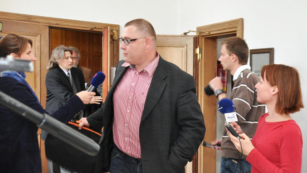 Petr Lička u soudu