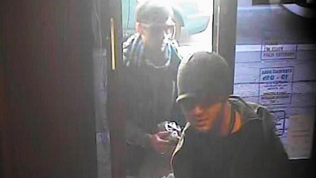 Záběr z bezpečnostní kamery