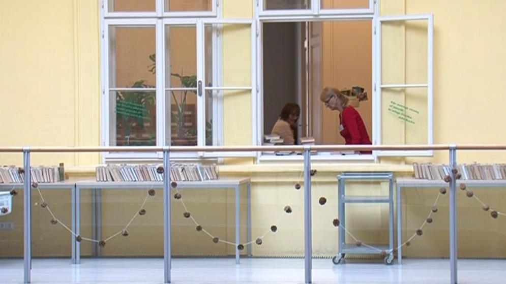 Nové zázemí přinesla knihovně zásadní rekonstrukce z let 1998 až 2001