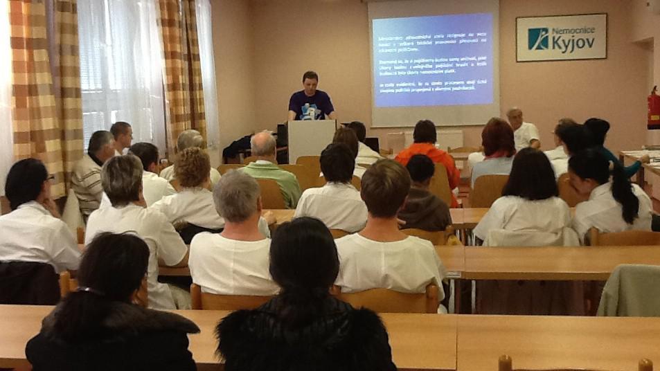 Kyjovští lékaři se připojili ke kolegům z Polska, Maďarska a Slovenska