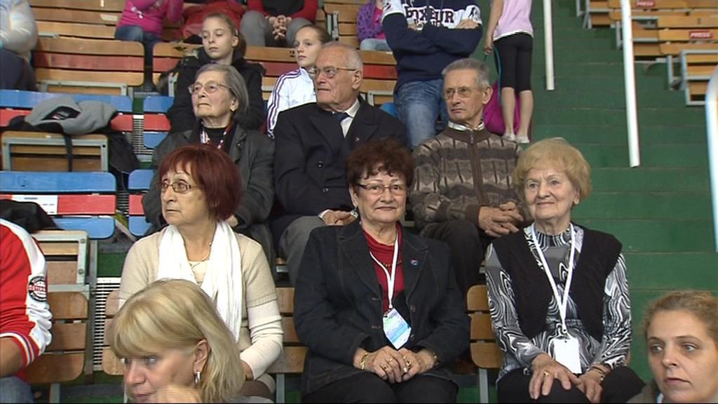 V publiku nechyběla olympijská medailistka Věra Růžičková