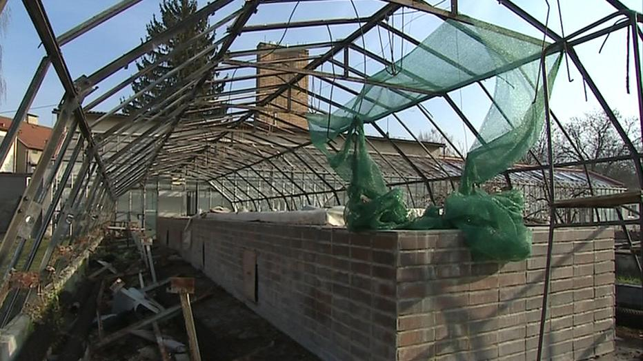 Rekonstruovat se budou i skleníky