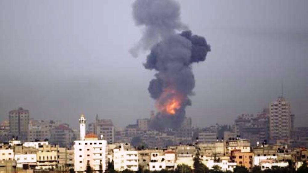 Exploze v Gaze