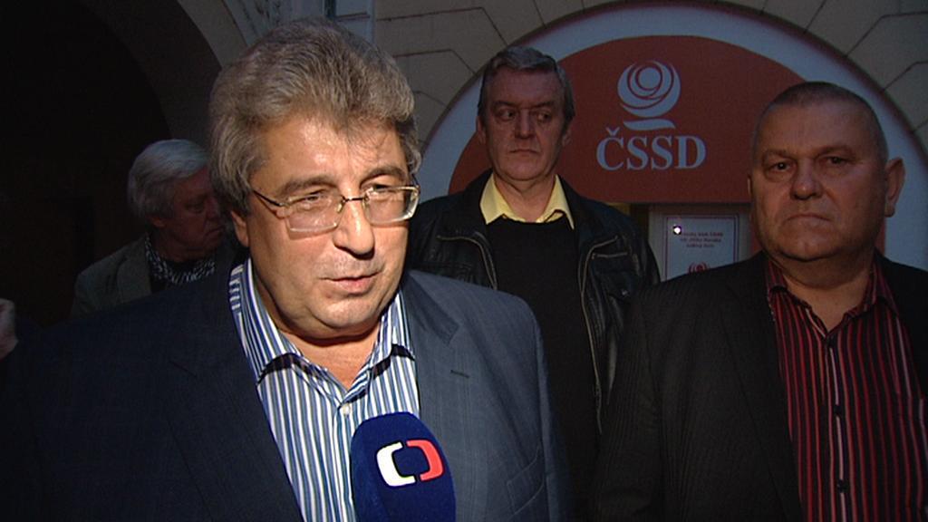 Volební lídr ČSSD Josef Řihák