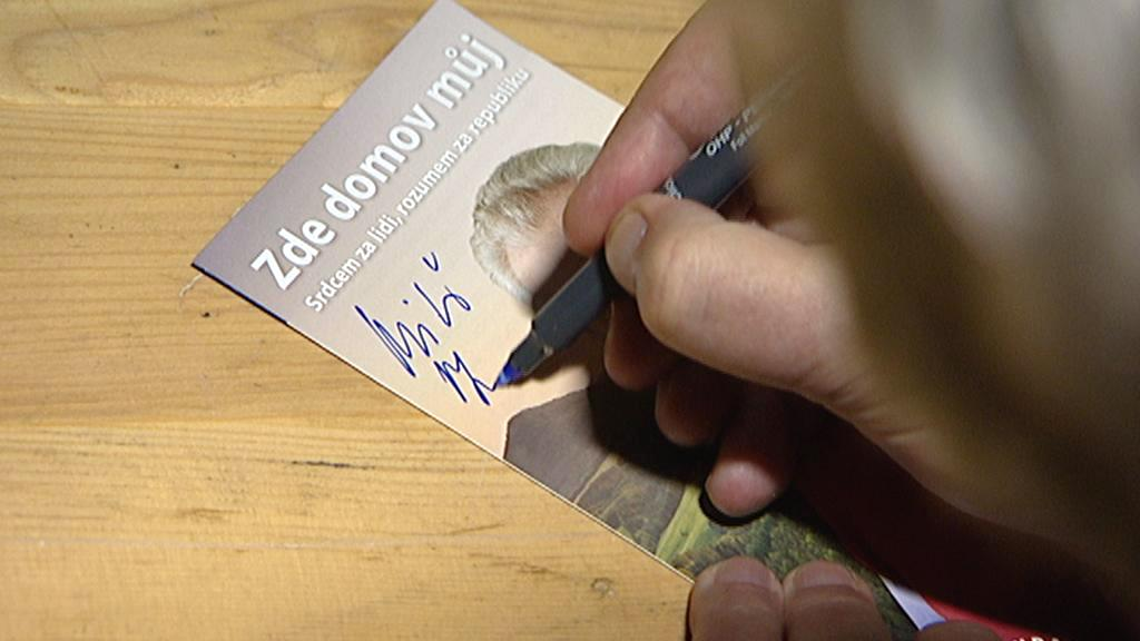 Volební kampaň Miloše Zemana