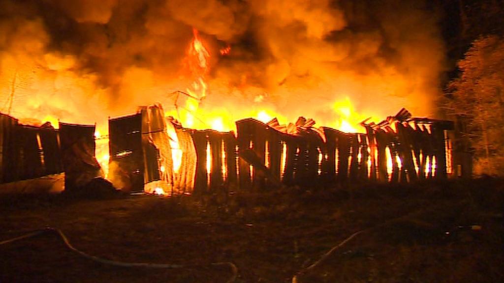 Požár v Bulovce