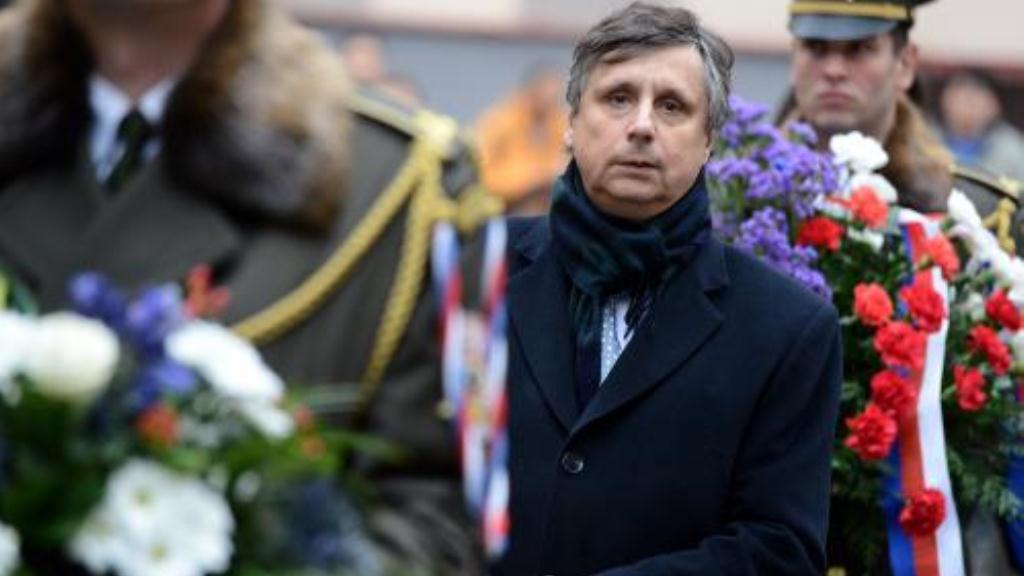 Jan Fischer se zúčastnil piety