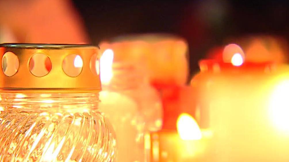 Svíčky na Národní