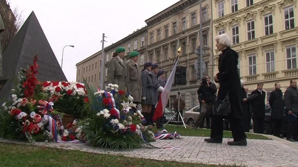 Pietní akt v Brně