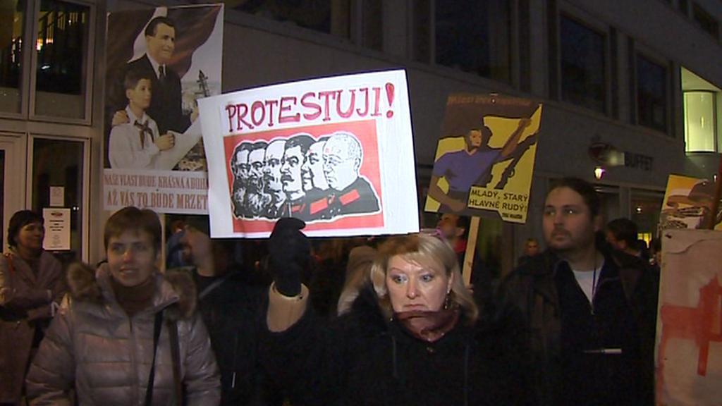 Protest v Ústí nad Labem
