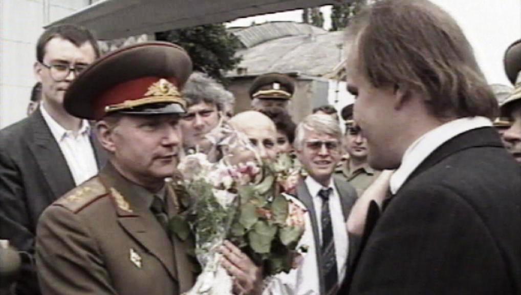 Eduard Vorobjov a Michael Kocáb