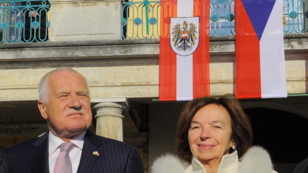 Václav Klaus na návštěvě Rakouska