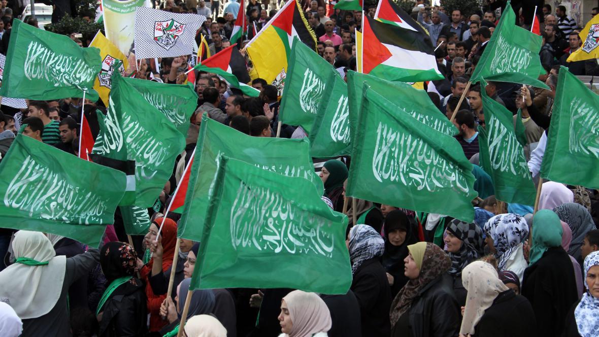 Protesty proti Izraeli v pásmu Gazy