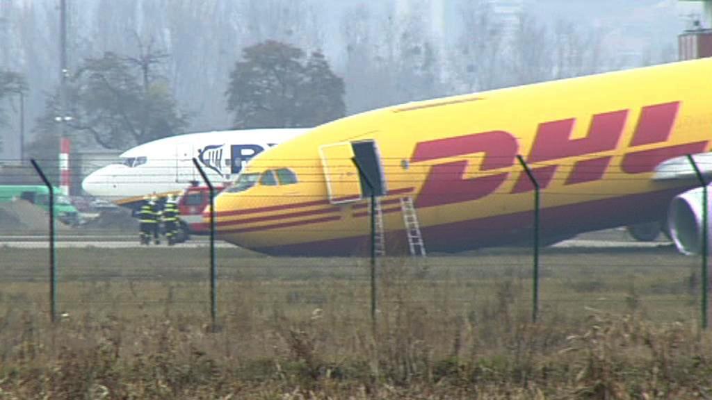 Nehoda letadla na bratislavském letišti