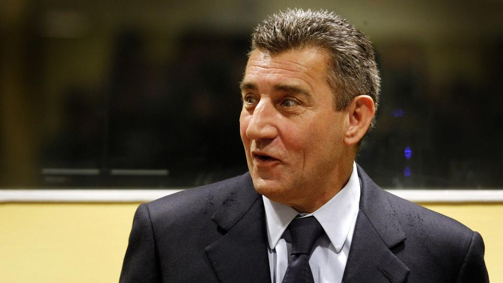Ante Gotovina po vyslechnutí osvobozujícího rozsudku