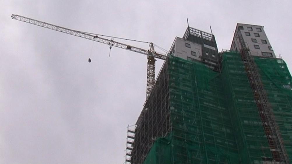 Záchranáři si vybrali brněnský AZ Tower kvůli jeho výšce