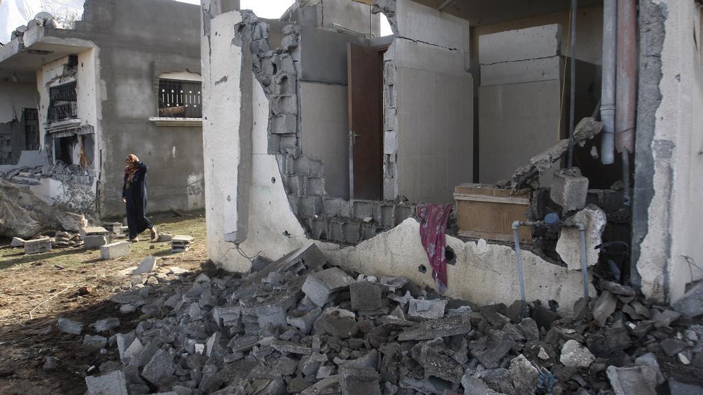 Následky izraelského útoku