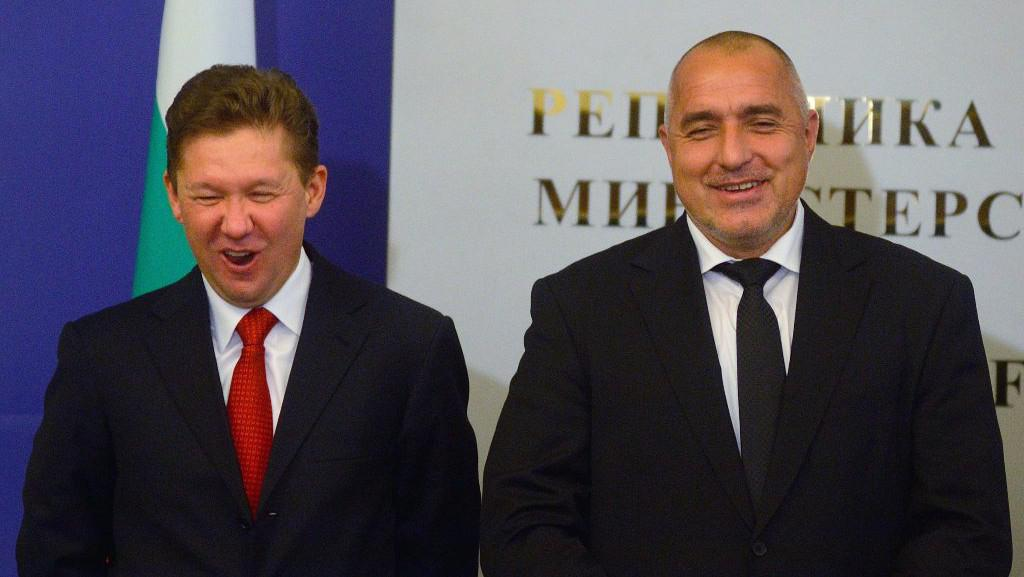 Alexej Miller a Bojka Borisov