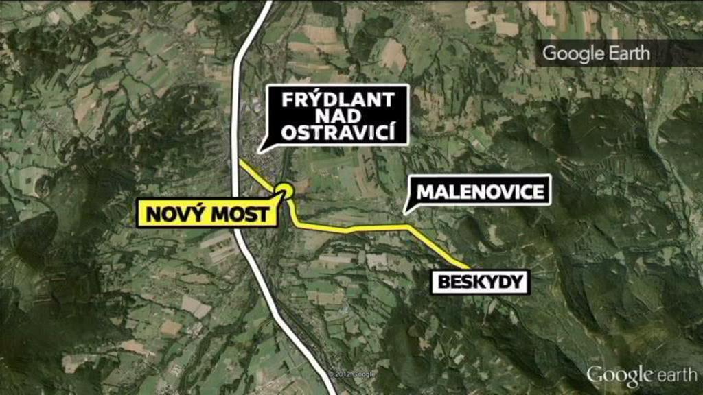 Situační mapa