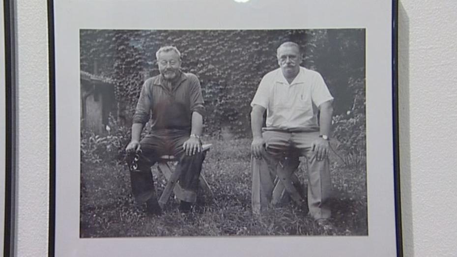 Jiří Trnka s Janem Werichem