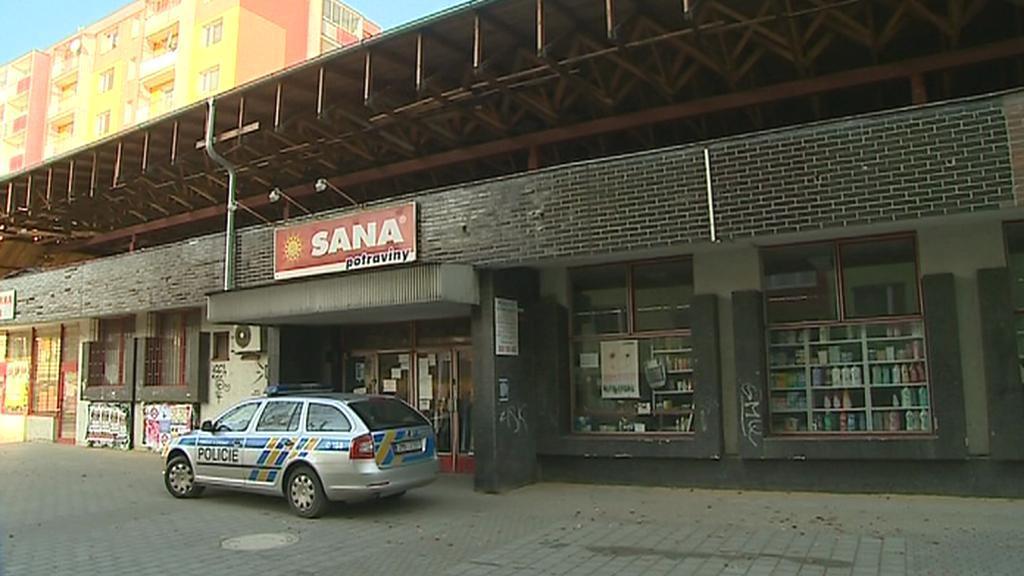 Obchod v Nedvědově ulici