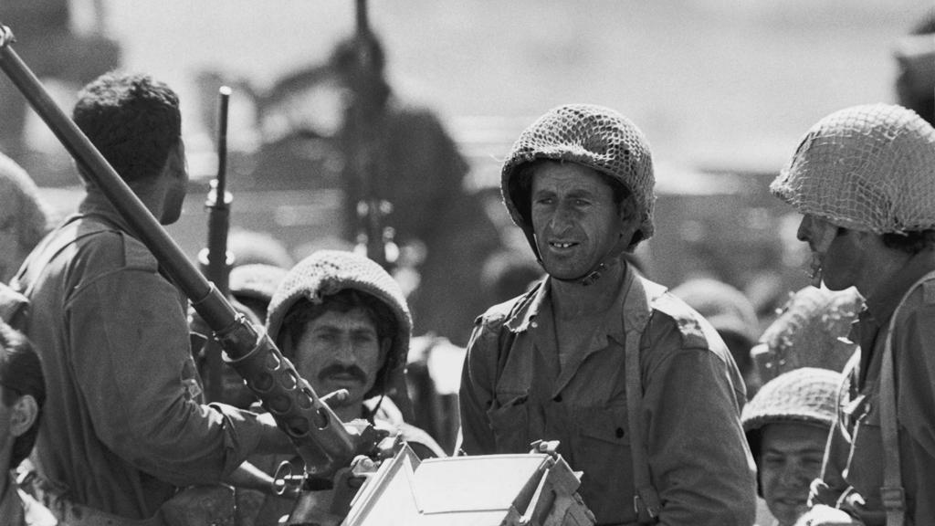 Izraelští vojáci během šestidenní války