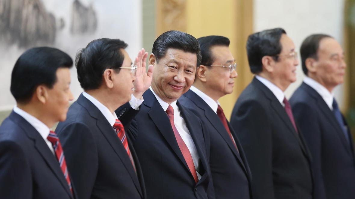 Nové čínské politbyro