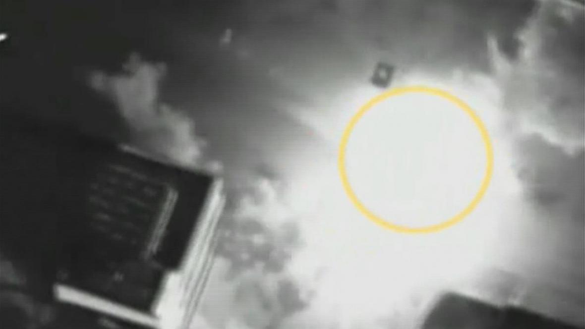 Útok na Džabárího auto zachycený izraelskou armádou