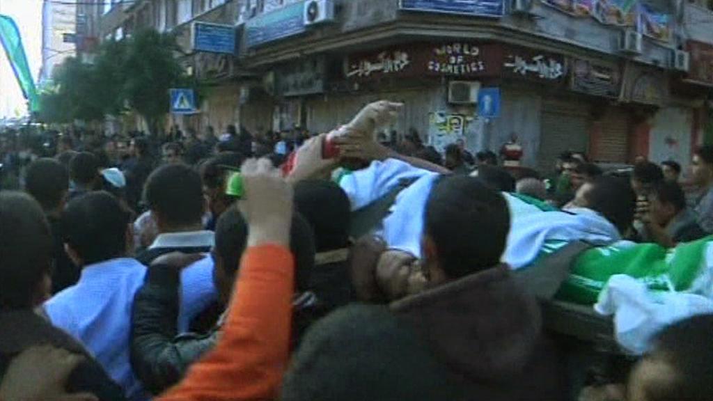Pohřeb Ahmada al-Džabárího