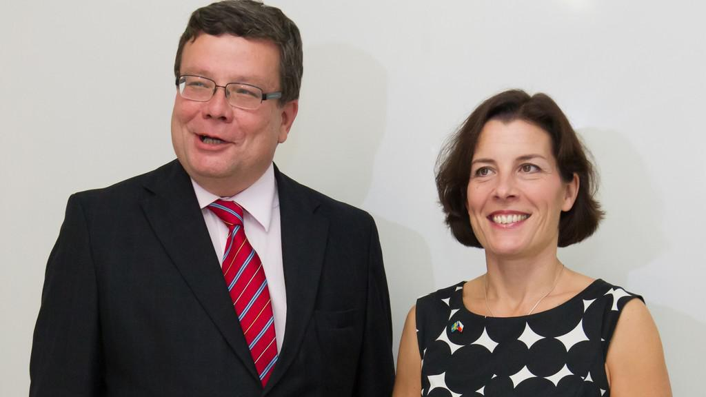 Alexandr Vondra a Karin Enströmová