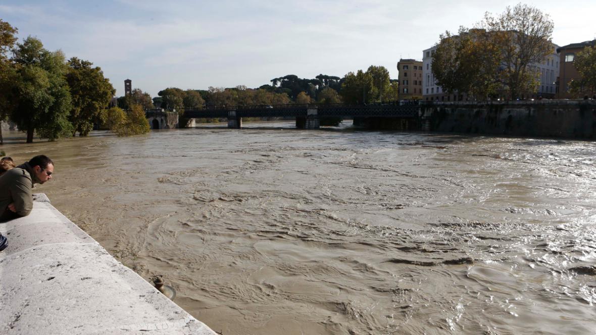 Rozvodněná Tibera