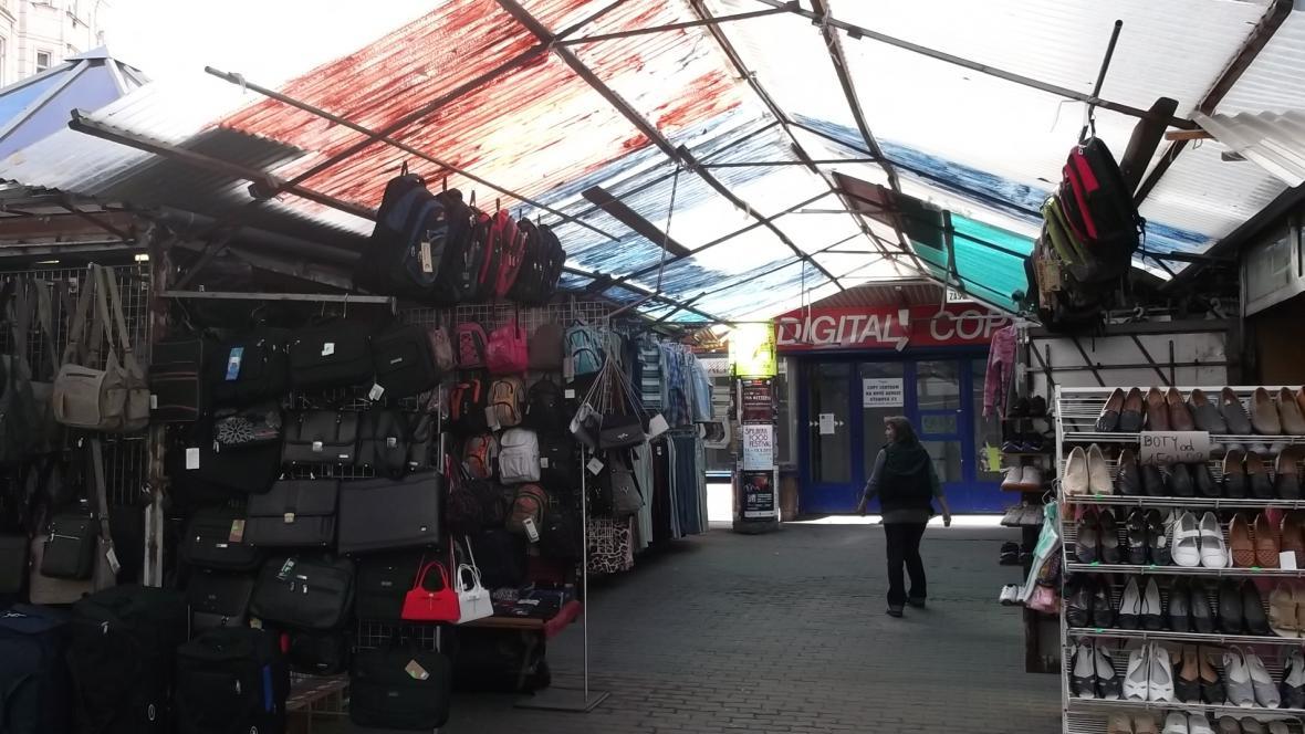 Tržnice Pohořelec v Brně
