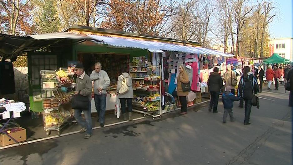 Zlínská tržnice Pod Kaštany