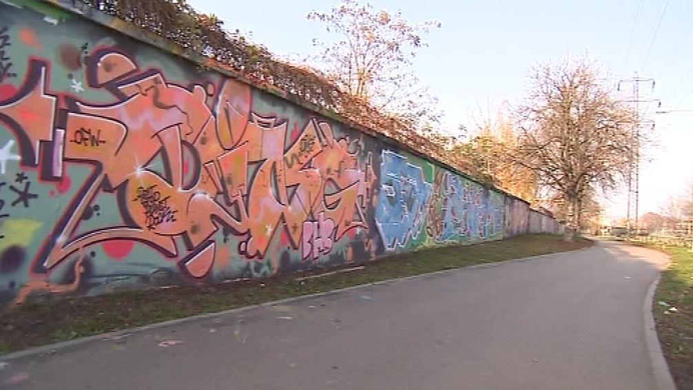 Na některých místech graffiti lidem nevadí