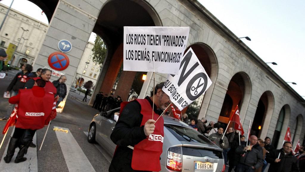 Generální stávka ve Španělsku