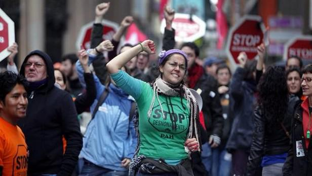 Protest proti škrtům