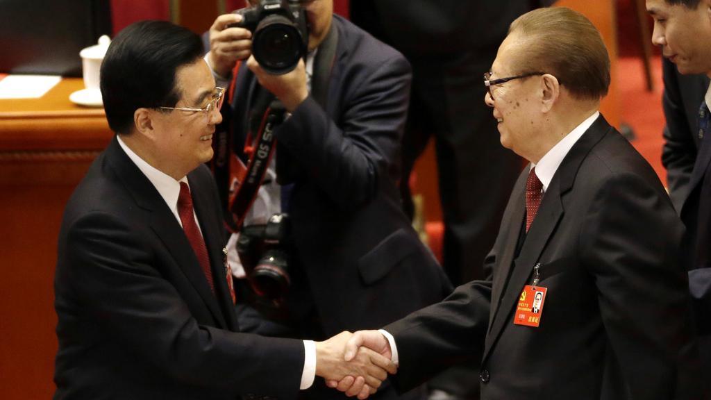 Chu Ťin-tchao a Ťiang Ce-min