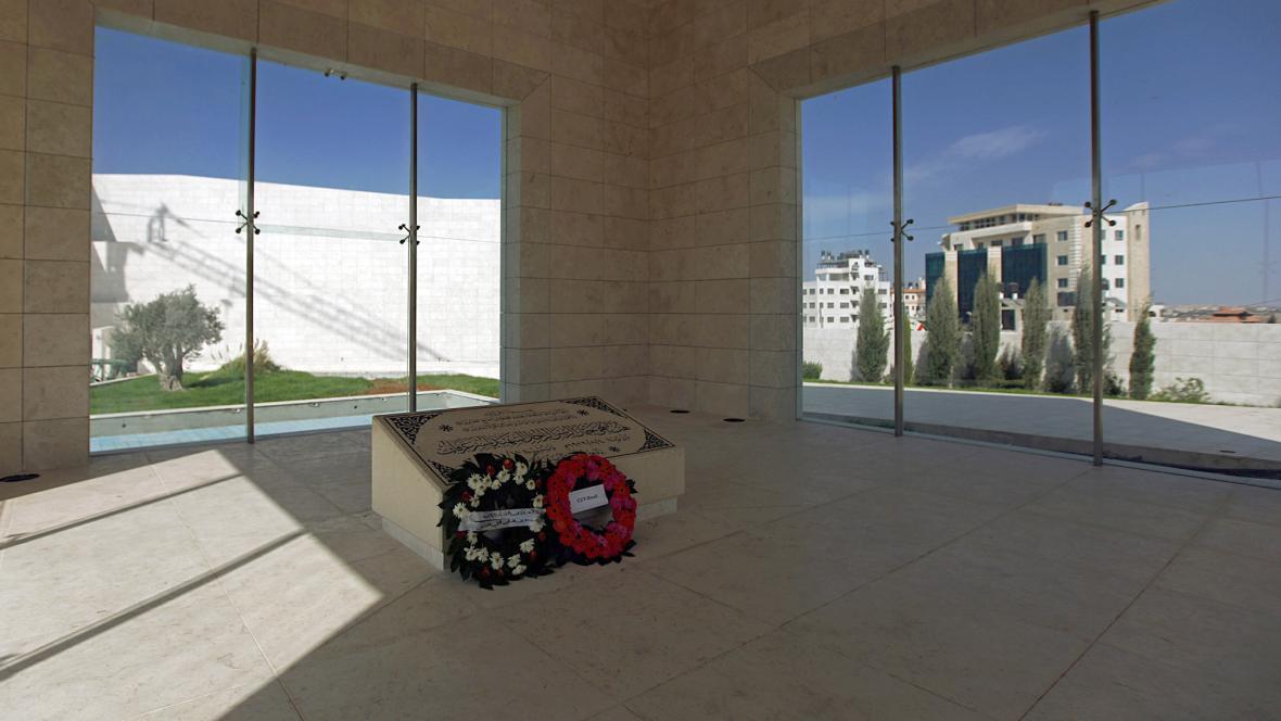 Arafatova hrobka