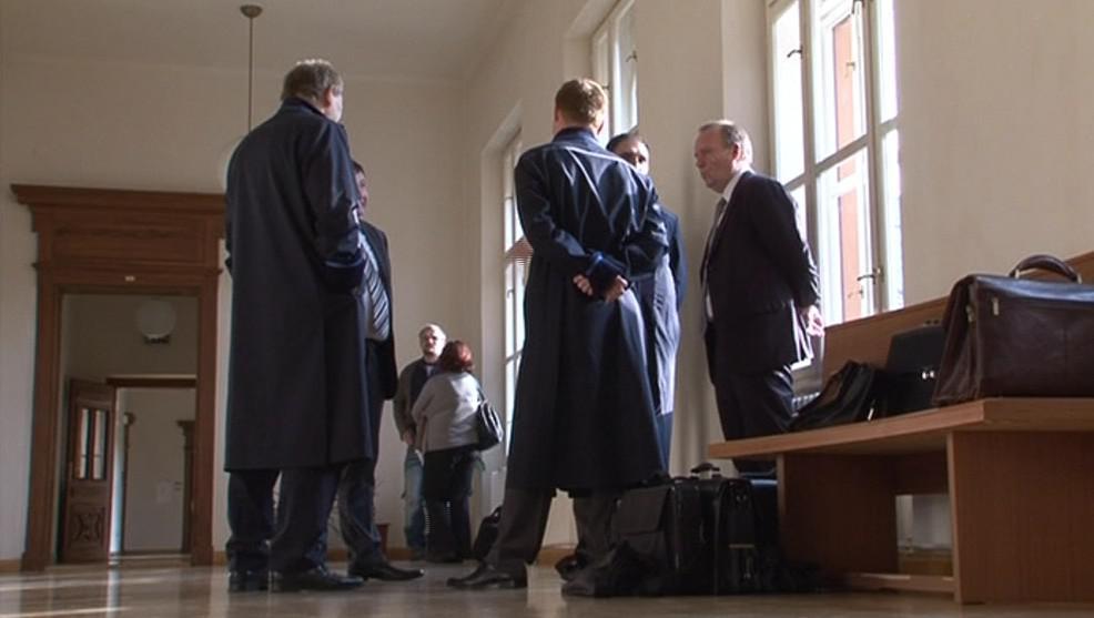 Janečka a jeho společníci s právníky