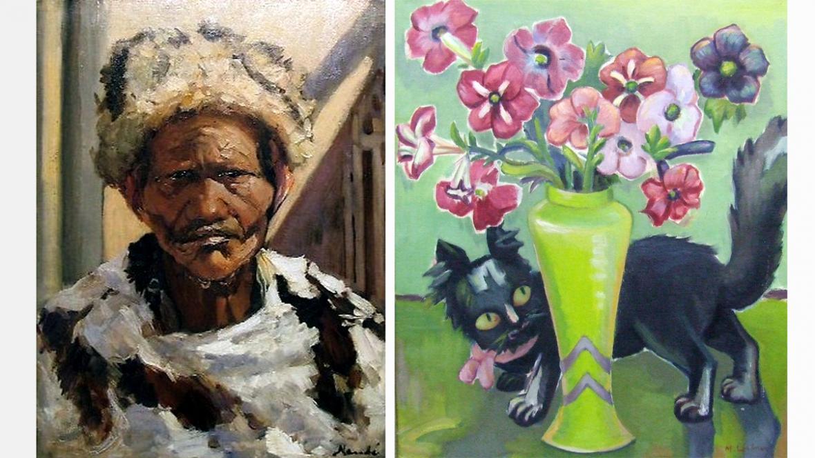 Obrazy odcizené z výstavy v Pretorii