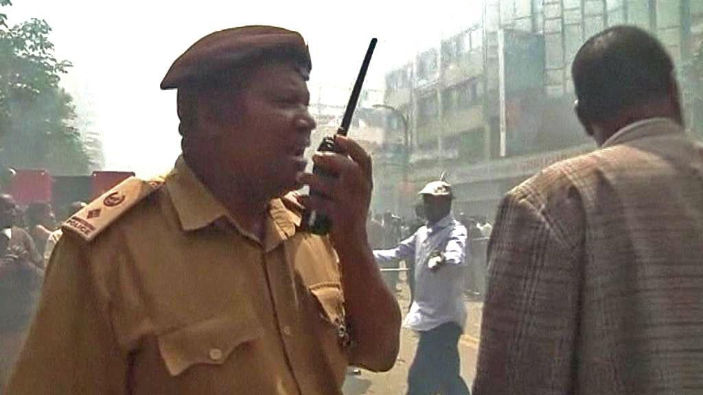 Výbuch v Keni