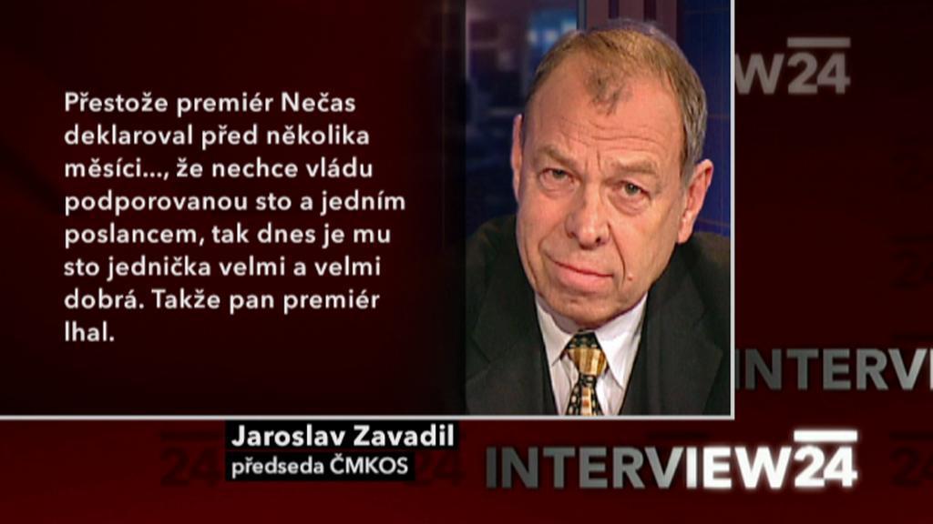 Výrok Jaroslava Zavadila