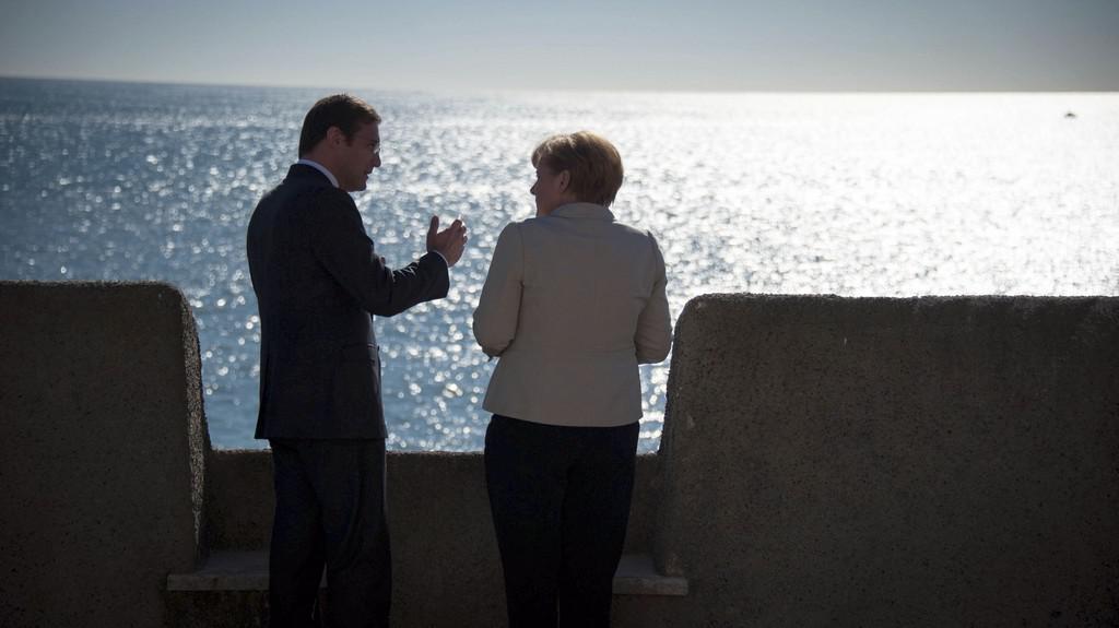 Angela Merkelová v Portugalsku