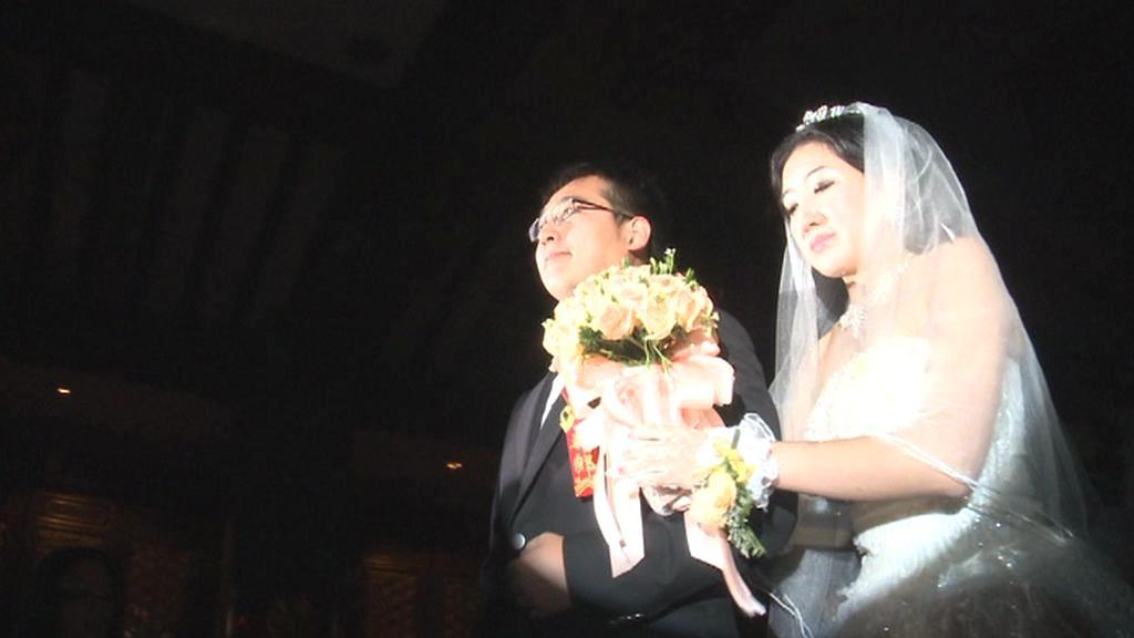 Čínská svatba podle evropských pravidel
