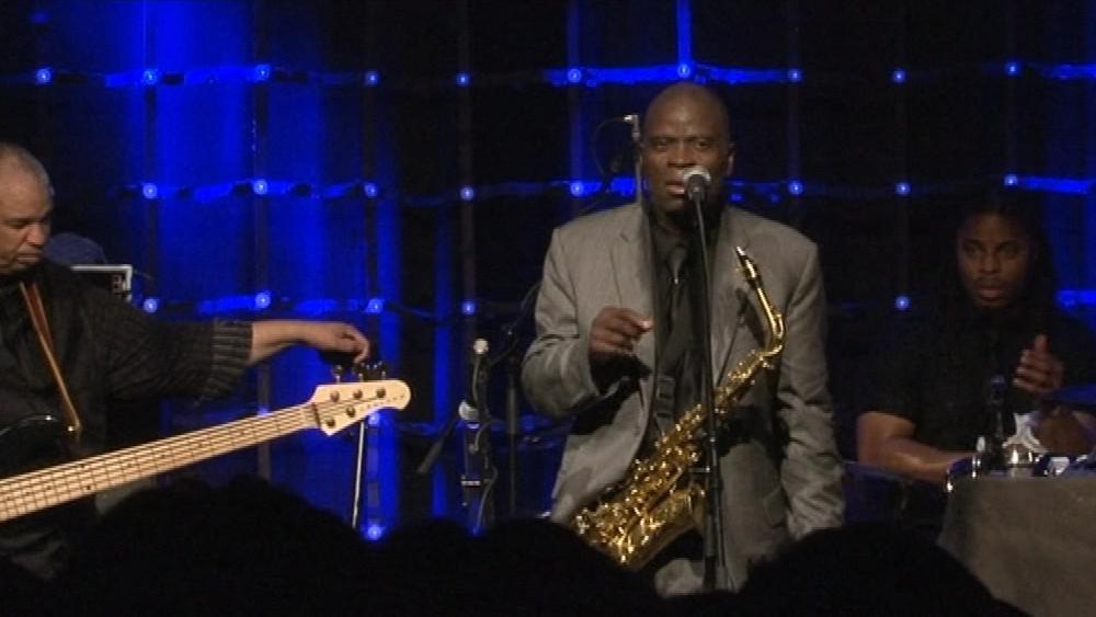 Americký saxofonista Maceo Parker