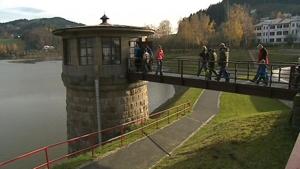 Útroby přehrady si nenechalo ujít 1 500 návštěvníků