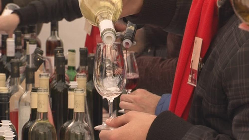 Lidé mohli ochutnat sto vzorků od stovky vinařů