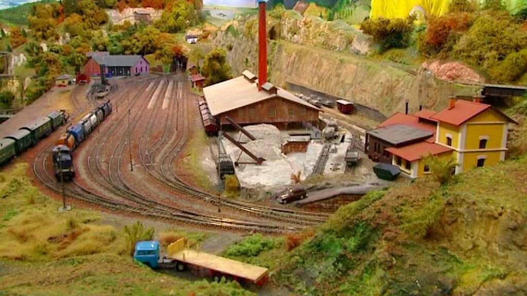 Plzeňský železniční model