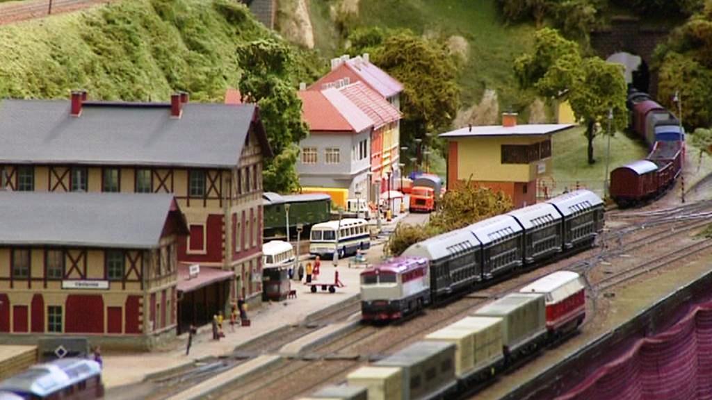 Železniční model v Plzni