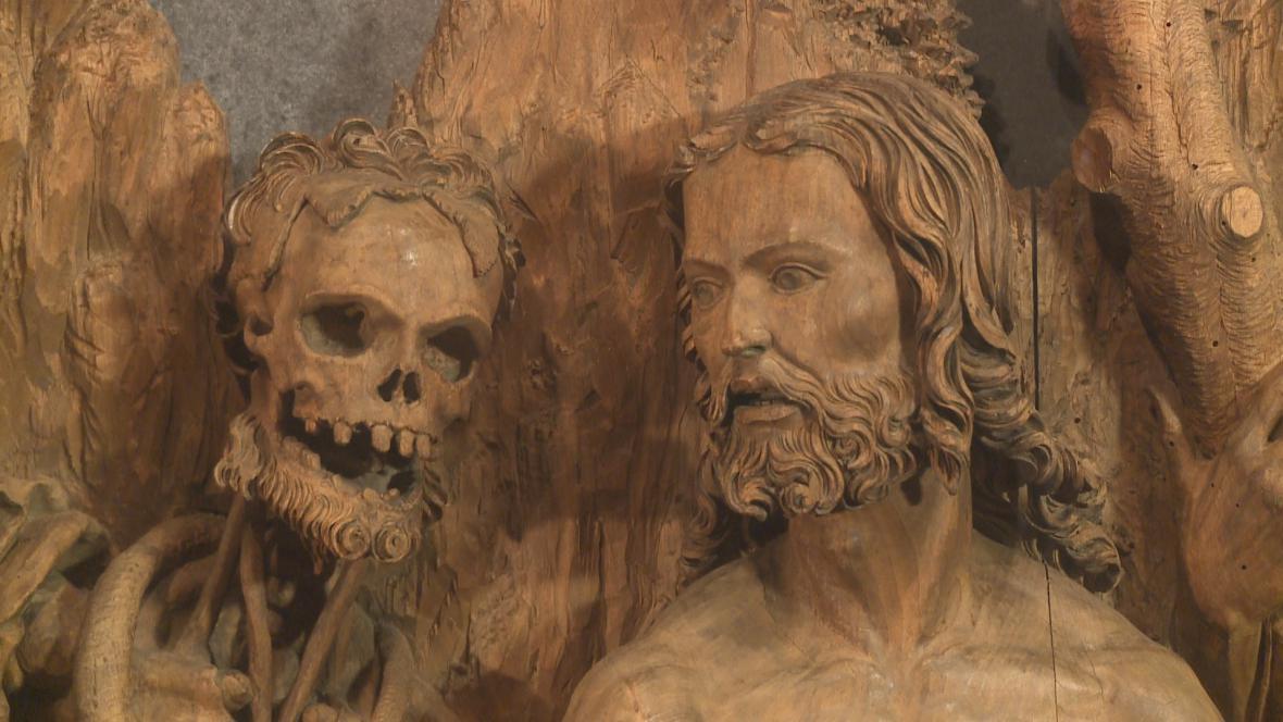 Zlíchovský retábl (detail)